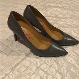 Gray heels by Charley Amar- designed in Italy